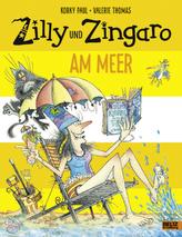 Zilly und Zingaro am Meer