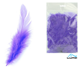 Peří barevné 10g levandulové