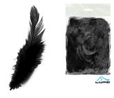 Peří barevné 10g černé