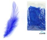 Peří barevné 10g modré tmavě