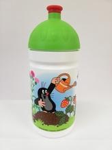 Bino Zdravá lahev Krtek s zeleným vrškem