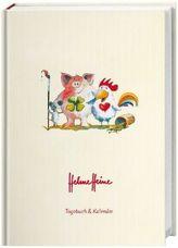 Helme Heine 17-Monats-Kalenderbuch A5 2019