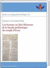 Les hymnes au dieu Khnoum de la façade ptolémaïque du temple d'Esna