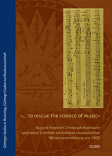 ... to rescue the Science of Music