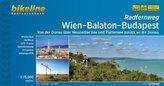 Bikeline Radtourenbuch Radfernweg Wien-Balaton-Budapest