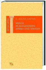Kriege in Alexandrien, Afrika und Spanien
