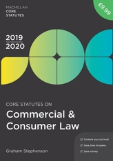 Core Statutes on Commercial & Consumer Law 2019-20