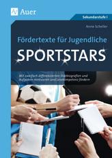 Fördertexte für Jugendliche - Sportstars