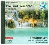 Die Fünf Elemente in Bewegung - Auf dem Rücken der Tiere, 1 Audio-CD