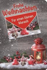 Geschenkbuch Frohe Weihnachten