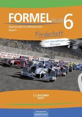 Formel PLUS 6 Förderheft Bayern