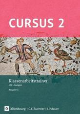 Cursus - Ausgabe A Klassenarbeitstrainer 2