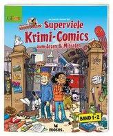 Redaktion Wadenbeißer Superviele Krimi-Comics. Doppelband