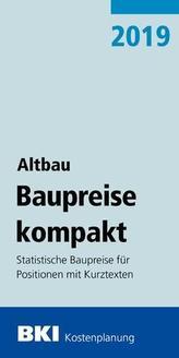 BKI Baupreise kompakt Altbau 2019