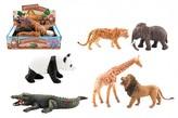 Zvířátko safari ZOO plast 11-17cm  (1ks)