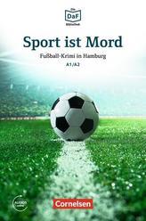 Die DaF-Bibliothek A1-A2 - Sport ist Mord