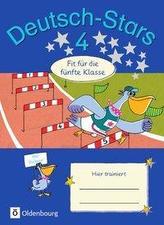 Deutsch-Stars 4. Schuljahr - Fit für die 5. Klasse