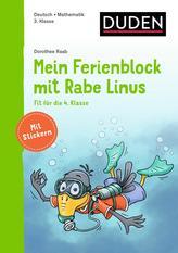 Mein Ferienblock mit Rabe Linus - Fit für die 4. Klasse