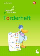 Denken und Rechnen 4. Forderheft. Allgemeine Ausgabe