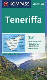 Teneriffa 1:50 000