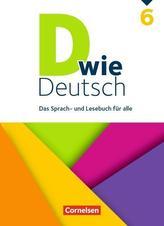D wie Deutsch 6. Schuljahr - Schülerbuch