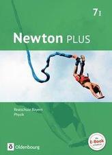 Newton plus 7. Jahrgangsstufe- Realschule Bayern - Wahlpflichtfächergruppe I - Schülerbuch