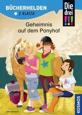 Die drei !!!, Bücherhelden, Geheimnis auf dem Ponyhof