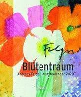 Blütentraum 2020 - Postkartenkalender