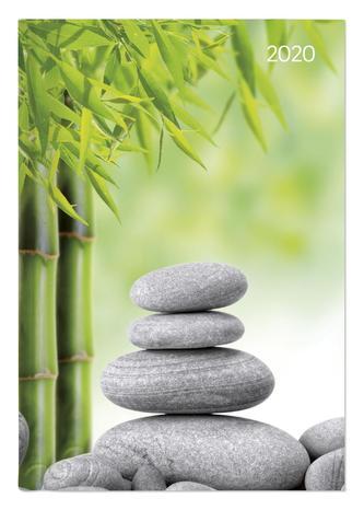 Buchkalender Style Zen 2020 - Bürokalender A5