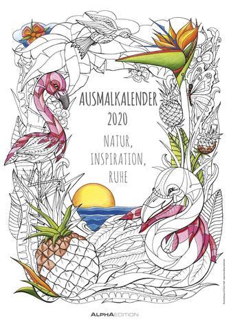 Ausmalkalender 2020