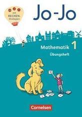 Jo-Jo Mathematik 1. Schuljahr - Allgemeine Ausgabe - Übungsheft