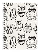 Ladytimer Ringbuch Owls 2020