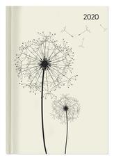 Buchkalender Style Blowballs 2020 - Bürokalender A5 - Cheftimer - 1 Tag 1 Seite - 352 Seiten - Terminplaner - Notizbuch - Pusteb
