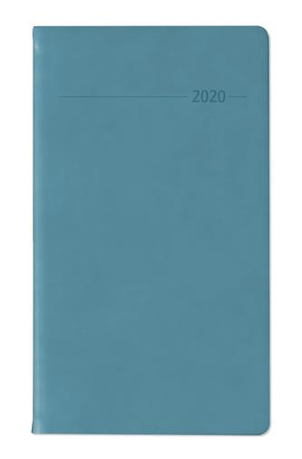Slimtimer Touch PVC türkis 2020 - mit Adressbuch
