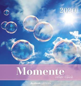 Momente voller Glück 2020 - Postkartenkalender (16 x 17)