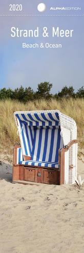 Strand & Meer 2020 - Lesezeichenkalender