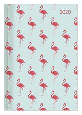 Buchkalender Style Flamingos 2020 - Bürokalender A5