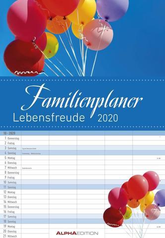 Familienplaner Lebensfreude 2020 - Bildkalender