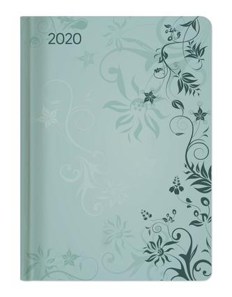 Ladytimer Turquoise Flowers 2020