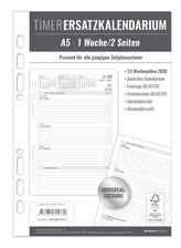 Timer Ersatzkalendarium A5 2020