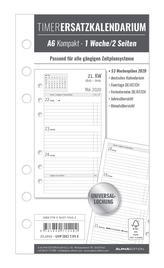Timer Ersatzkalendarium A6 Kompakt 2020
