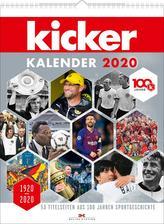 kicker Kalender 2020