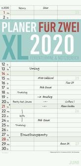Planer für 2 XL 2020 mit 3 Spalten