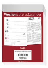Wochenabreißkalender 2020