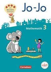 Jo-Jo Mathematik 3. Schuljahr - Allgemeine Ausgabe 2018 - Schülerbuch mit Kartonbeilagen und Lernspurenheft