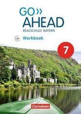 Go Ahead 7. Jahrgangsstufe - Ausgabe für Realschulen in Bayern - Workbook mit Audios online