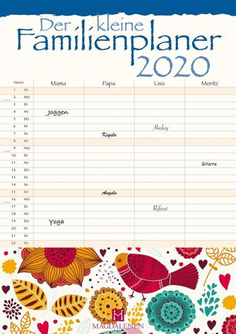 Der kleine Familienplaner 2020