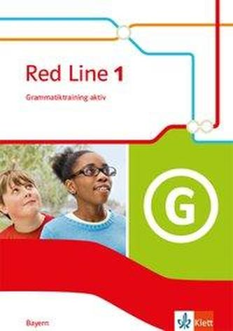 Red Line 1. Grammatiktraining aktiv! Klasse 5. Ausgabe Bayern