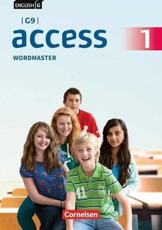 English G Access - G9 - Band 1: 5. Schuljahr- Wordmaster mit Lösungen