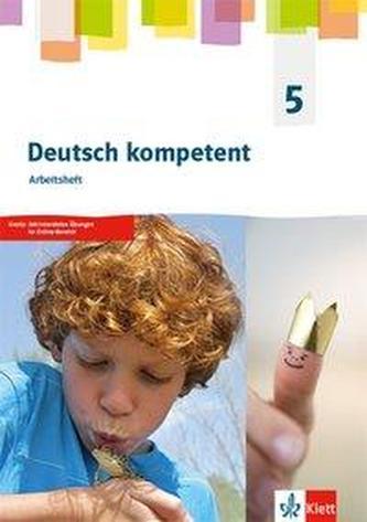 deutsch.kompetent 5. Allgemeine Ausgabe 2019 Gymnasium. Arbeitsheft Klasse 5